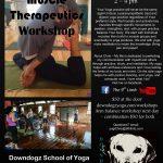 Workshop 2016 06 25 Downdogz yoga studio therapeutics